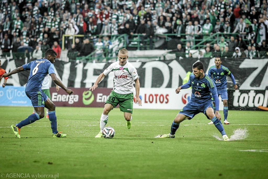 Lechia - Panathinaikos 4:0. Przy piłce Bartłomiej Pawłowski