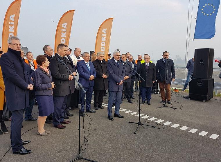 Otwarcie obwodnicy Radomia na S7. Obecny m.in. minister infrastruktury Andrzej Adamczyk