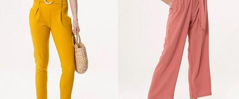 Eleganckie spodnie nie tylko do pracy. 18 modeli z dużym rabatem!