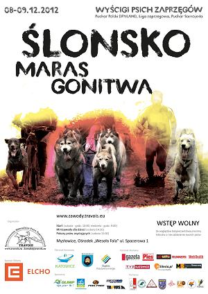 Ślonsko Maras Gonitwa - wyścigi psich zaprzęgów