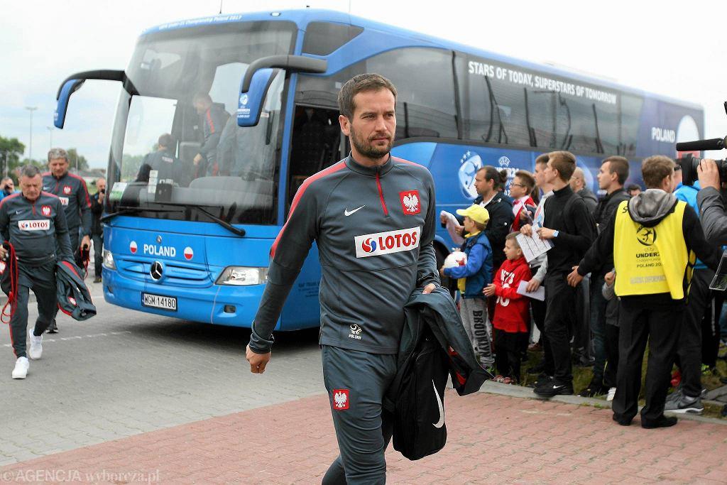 W sobotę w południe podopieczni trenera Marcina Dorny trenowali na bocznym stadionie Areny Lublin.