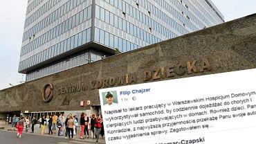 Filip Chajzer chce oddać swoje auto lekarzowi