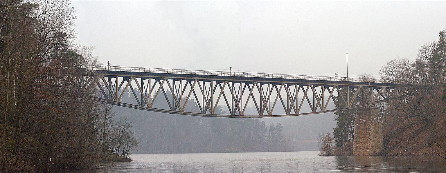 Most Pilchowicki został uszkodzony