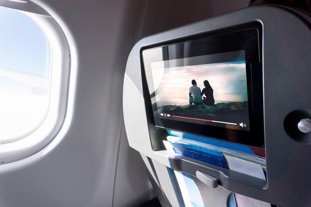 Filmy do obejrzenia w samolocie.