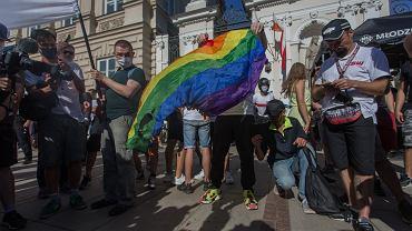 Manifestacja nacjonalistów