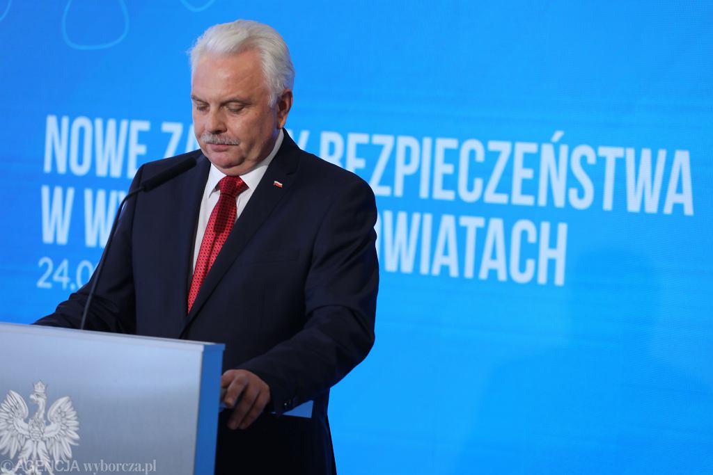 Waldemar Kraska - wiceszef Ministerstwa Zdrowia