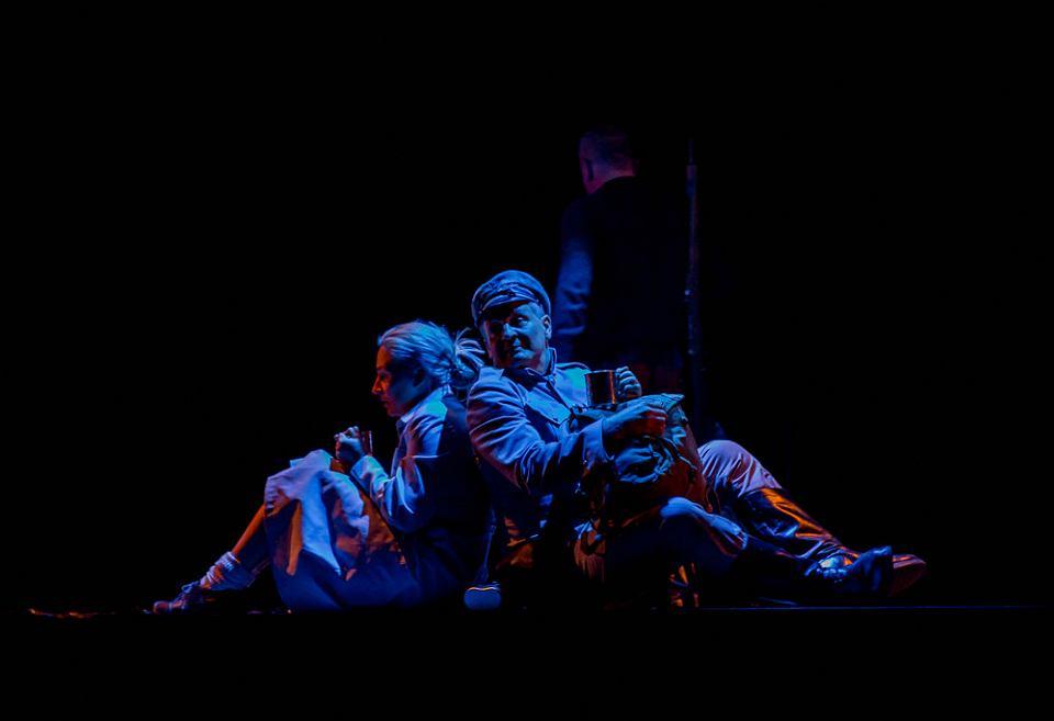 Teatr Dramatyczny. Spektakl Gałązka rozmarynu