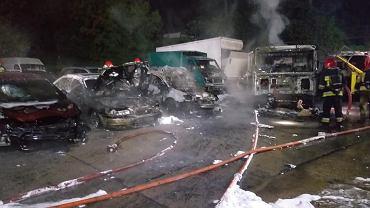Pożar w Gorzowie Wielkopolskim
