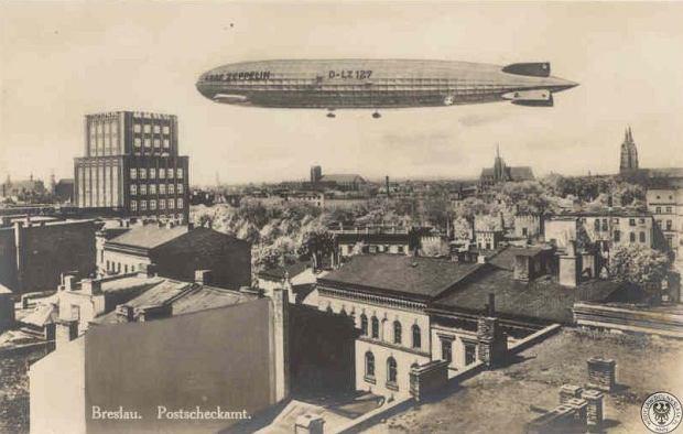 Zdjęcie numer 12 w galerii - Sterowce nad przedwojennym Wrocławiem. Te archiwalne zdjęcia robią wrażenie [GALERIA]
