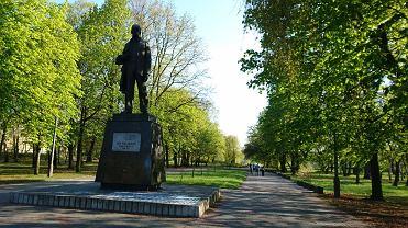 Pomnik Leona Kruczkowskiego w Sosnowcu