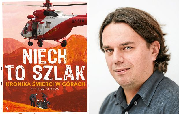Bartłomiej Kuraś, autor książki 'Niech to szlak' (fot. Mateusz Skwarczek / Agencja Gazeta)