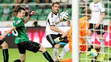Legia wygrała z Górnikiem Łęczna 5:0. Strzela Orlando Sa