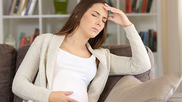 Zawroty głowy w ciąży mają różne przyczyny