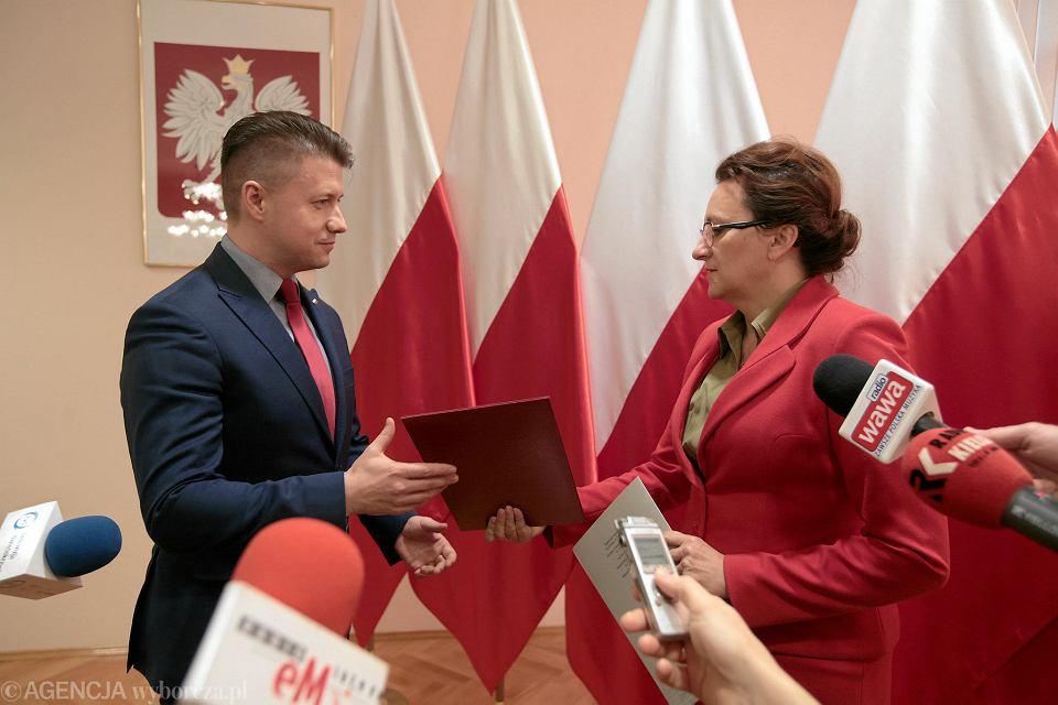 Kielce, 28 listopada 2018. Bartłomiej Dorywalski wicewojewodą świętokrzyskim