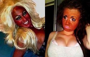 One przesadziły z makijażem