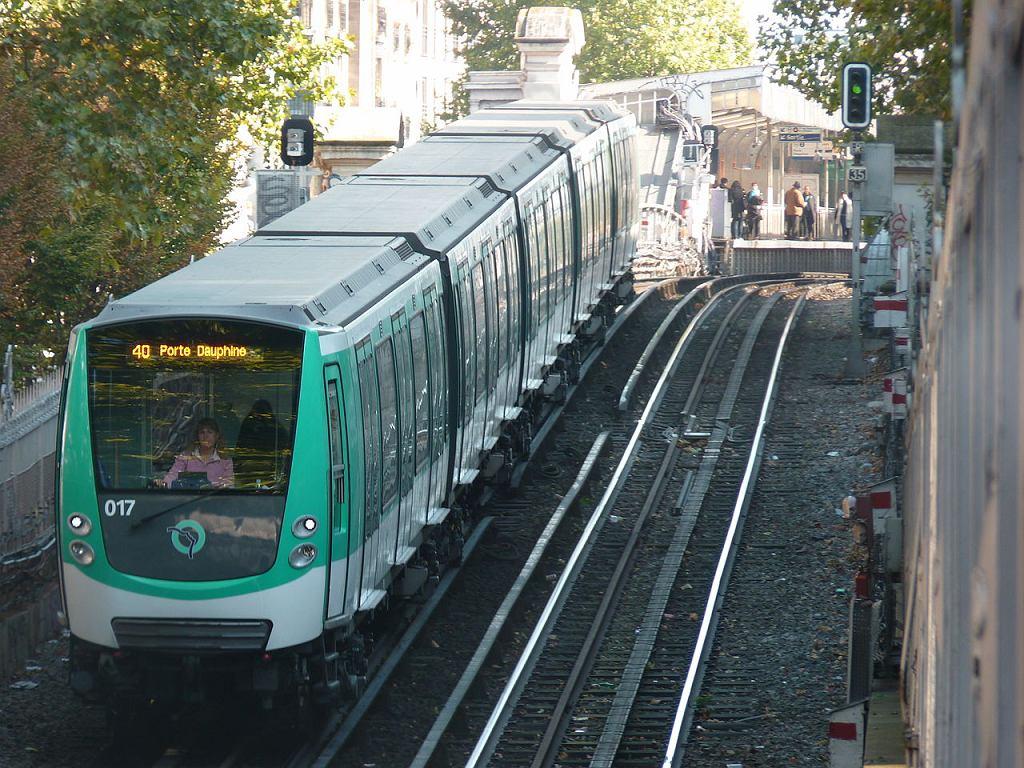 Metro w Paryżu