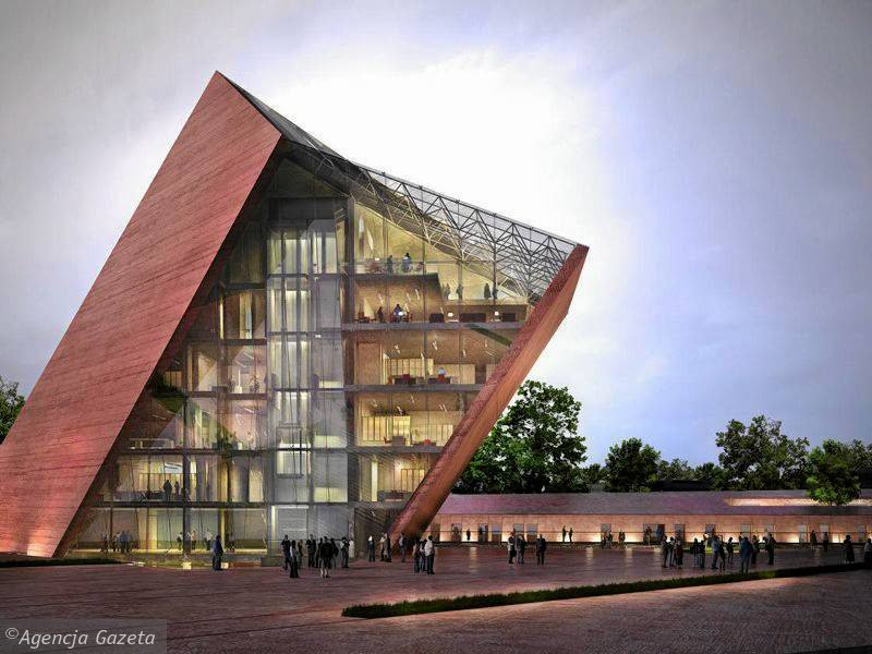 Projekt Muzeum II Wojny Światowej