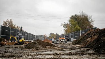 Budowa połączenia dzielnic Wilanów i Ursynów na skrzyżowaniu ulic Relaksowej i Rosnowskiego w Warszawie