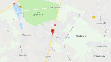 Do śmiertelnego wypadku doszło w Łazach (powiat piaseczyński)