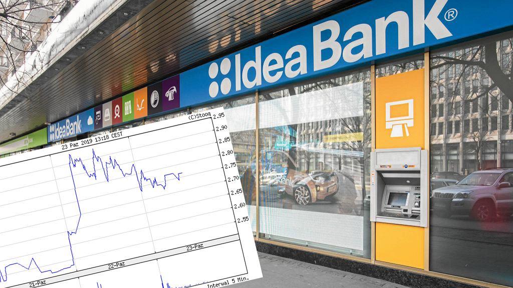 Wzrost notowań Idea Bank