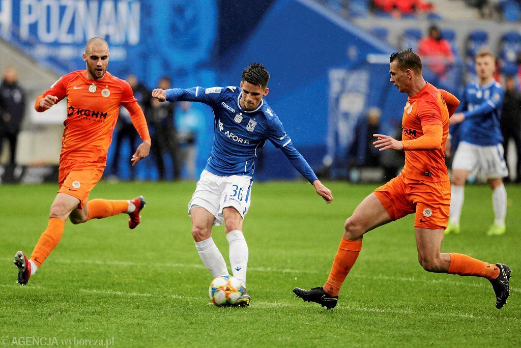 Filip Marchwiński (w środku) kuszony jest przez wielkie kluby z Europy