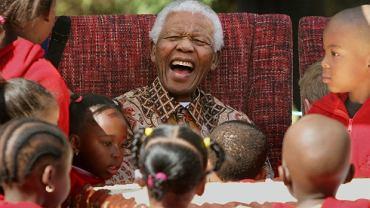 Nelson Mandela w 2007 r.