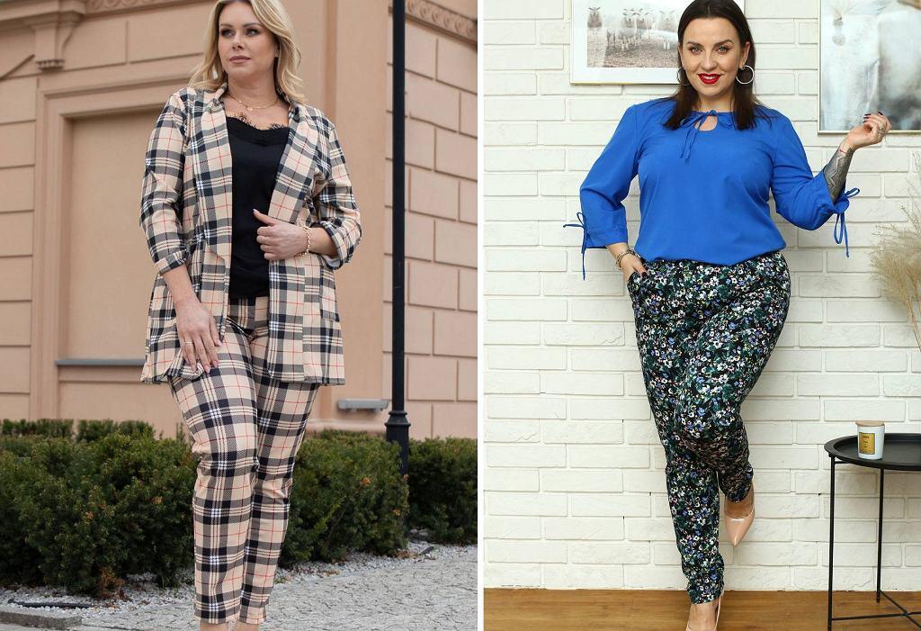 Spodnie w modne wzory
