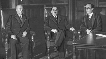 Prezydent Ruge i wiceprezydent Zaleski