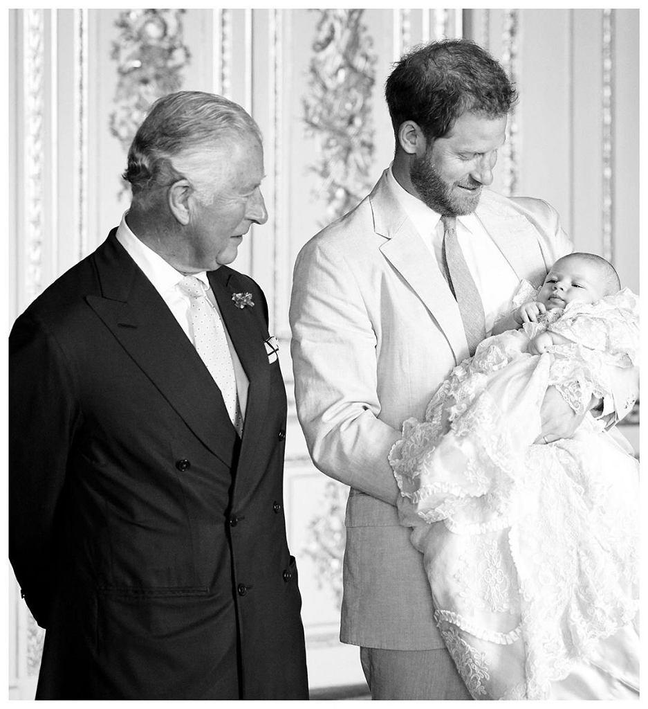 Książę Karol, Książę Harry, Książę Archie