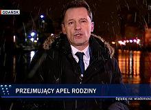 'Wiadomości' TVP w dniu śmierci Adamowicza zaatakowały Owsiaka i opozycję