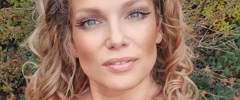 Joanna Liszowska w nowej fryzurze. Obcięła włosy i postawiła na grzywkę
