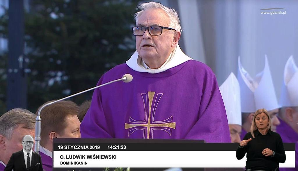 Ojciec Ludwik Wiśniewski pożegnał Pawła Adamowicza
