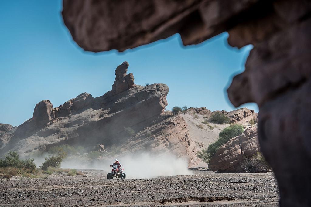 Rafał Sonik na 10. etapie Rajdu Dakar