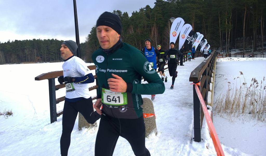 Tomasz Jarczyk z Olsztyna z Olsztyna na trasie City Trail Olsztyn