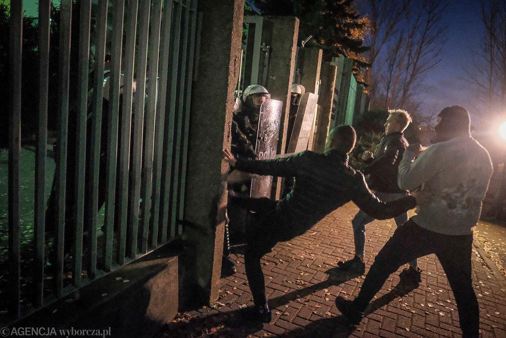 Zamieszki po śmierci Adama (fot. Piotr Skórnicki / Agencja Gazeta)