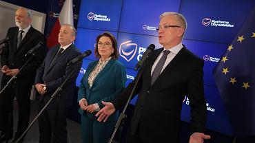 Małgorzata Kidawa-Błońska i Jacek Jaśkowiak kandydatami PO w prawyborach prezydenckich.