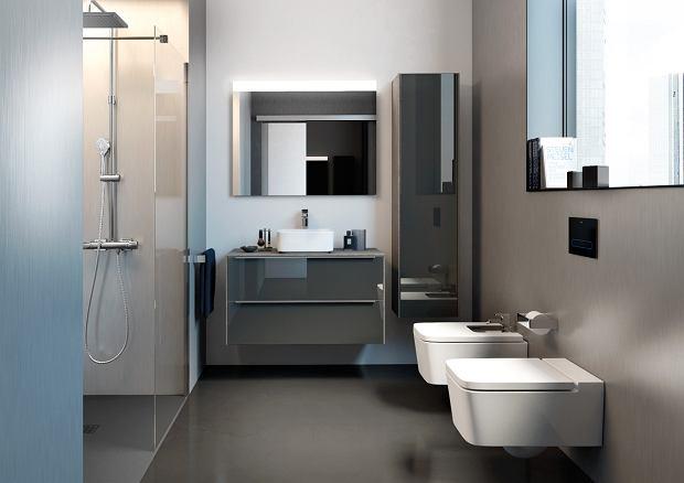 Aranżacja nowoczesnej łazienki ze szkłem