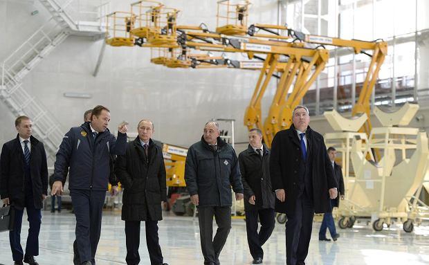Władimir Putin na kosmodromie Wostocznyj w 2016 roku