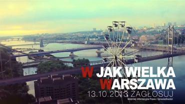 Kadr ze spotu Prawa i Sprawiedliwości przygotowanego przed referendum ws. odwołania Hanny Gronkiewicz-Waltz