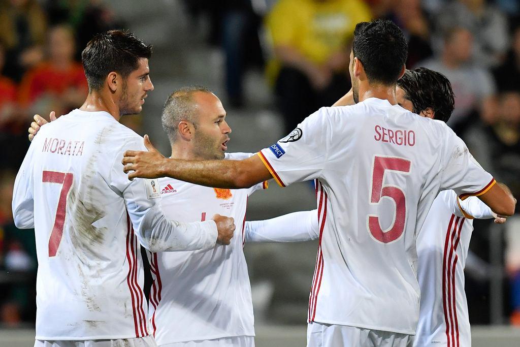 Soccer WCup 2018 Qualification Liechtenstein Spain