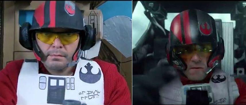 Z lewej kadr ze zwiastuna przygotowanego przez fanów, z prawej z materiału promującego