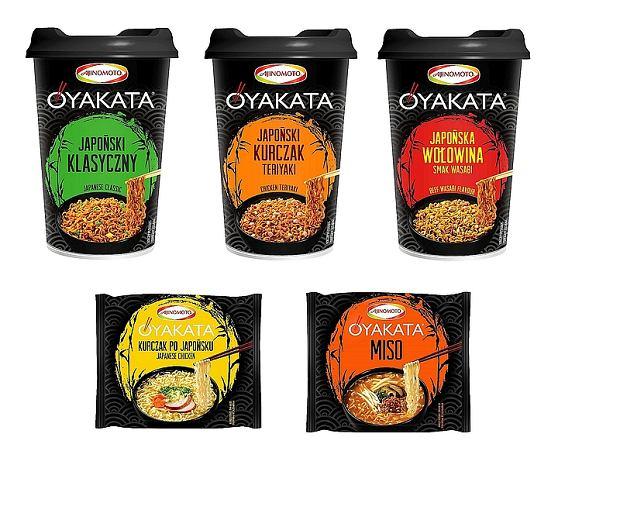 Japońskie smaki - nowości marki OYAKATA od czerwca 2016 na rynku