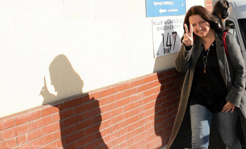 Joanna Lichocka dzisiaj gościła w TVP1. Prowadząca Małgorzata Serafin musiała jej zwracać uwagę