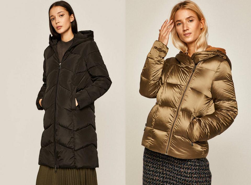 Pikowane kurtki na zimę