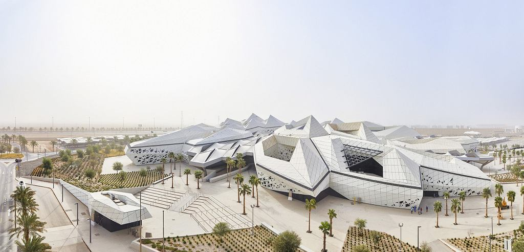 King Abdullah Petroleum Studies & Research Centre (KAPSARC) w Rijadzie (Arabia Saudyjska, 2017)