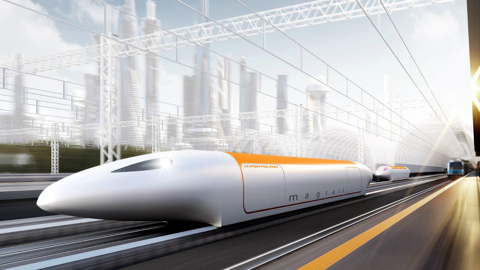 Projekt magrail: technologii, która pozwoli po tych samych torach poruszać się zwykłym pociągom i superszybkim, wykorzystującym pasywną lewitację magnetyczną