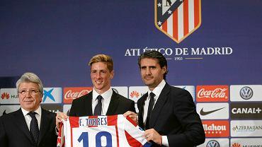 Prezentacja Fernando Torresa w Atletico