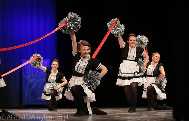 Zdjęcie numer 8 w galerii - Cheerleaderki rywalizują w Kielcach. Bo taniec nie jedną ma twarz [ZDJĘCIA]