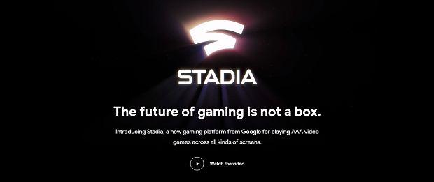 Google ogłasza oficjalnie projekt Stadia
