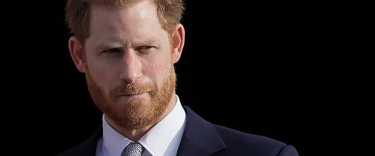 Wielka Brytania. Książę Harry opuścił Londyn i poleciał do Kanady